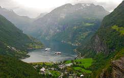 Geiranger, Norvégia