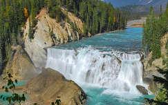 Wapta Falls, Yoho, Kanada