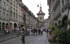 Bern főutcája,Svájc