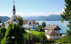 Mariawörth a Wörthi tó Tihanyja. Ausztria- Klágenfurt- Karinthia