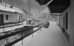 Sátoraljaújhely, Zsolyomkai Pincesor télen