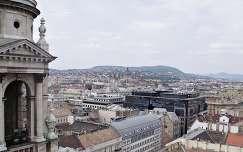 Magyarország, Budapest, kilátás a Szent István Bazilika tetejéről