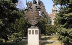 Kassa város címere a dómmal,Szlovákia