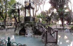 vízióra, Villa Borghese park, Róma