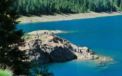 Lago Pian Palu'-Olaszország