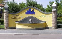 Terme Catullo (bejárat),Olaszország
