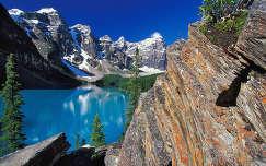 Moraine Lake, Banff Nemzeti Park, Kanada