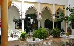Cordoba,Patio del Hotel Gonzales