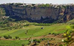 Ronda-Spain, View at the City of Ronda