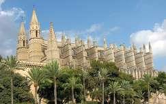 Palma homokkő katedrálisa, Mallorca