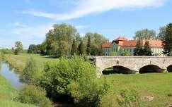 Magyarország, Zalaszentgrót, Zala folyó, Kőhíd (1846), Batthyány-kastély