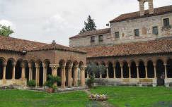 Verona, San Zeno templom kerengője, Olaszország