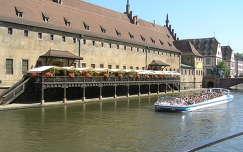 Strassburg, régi vámház,Franciaország