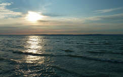 Júniusi naplemente Siofoknál