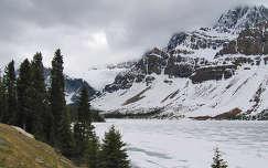 Kanada Alberta-tartomány gleccser a Sziklás-hegységben