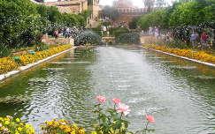 Cordoba,Alcazar kertje,Spanyolország