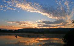 Napkelte-Tatai derítő-tó,Fotó:Szolnoki Tibor