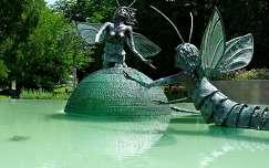 Magyarország, Szolnok, Tiszavirág szökőkút