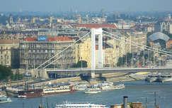 Budapest,Erzsébet híd pesti hídfője,Fotó:Szolnoki Tibor
