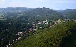 Erdély , Szováta , Medve-tó