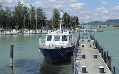 Fonyód, rendőrségi hajó
