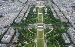 Trocadero az Eiffel toronyból