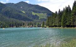 Hegyi tó Toblach