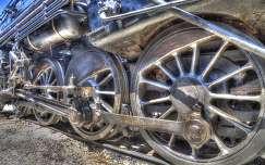 vonat mozdony