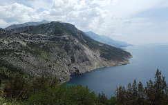Dalmácia tengerpart