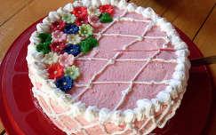 házi puncs torta (Évitől Esztusnak)