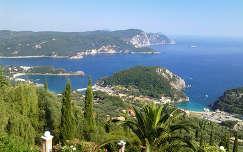 Korfu - Paleokastritsa (Görögország)