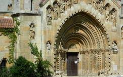 Templom kapu a Vajda Hunyad várában,Fotó:Szolnoki Tibor