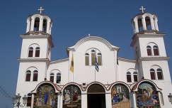 Katolikus templom Görögországban