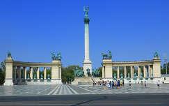 Budapest-Hősök tere,Fotó:Szolnoki Tibor