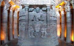 Ajanta, India, Buddhista barlang templom