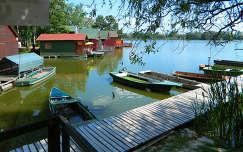 Csónak kikötő,tatai derítő-tó,Fotó:Szolnoki Tibor