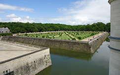 Chenanceau-i vízikastély várárok