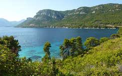 Zuljana-öböl, Peljesac-félsziget Horvátország