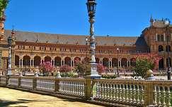 Sevilla, Spanje, Plaza de Espana. made by Elly Hartog