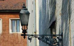 Utcai lámpa a budai várban,Fotó:Szolnoki Tibor