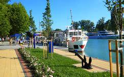 Siófok-kikötő,Fotó:Szolnoki Tibor
