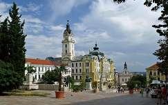 Magyarország, Pécs, Széchenyi tér, Városháza