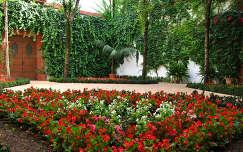 Sevilla-Spain, el Jardin del Hospital de Venerables Sacerdotes