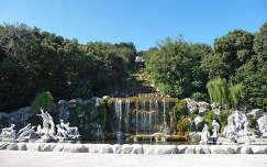 Caserta kastély parkja, Olaszország