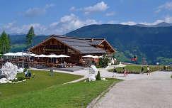 Hütte, Dél-Tirol.