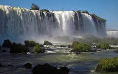 iguazu-vízesés világörökség vízesés nyár brazília