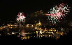 Tűzijáték Budapest 2012