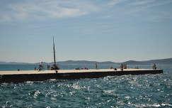 Zadar, Kék Adria, Horvátország