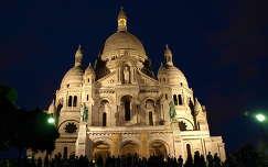 Sacré Coeur Bazilika,Párizs,Franciaország