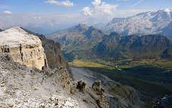 Dolomitok,Pordoi-hágó Dél-Tirol-Olaszország